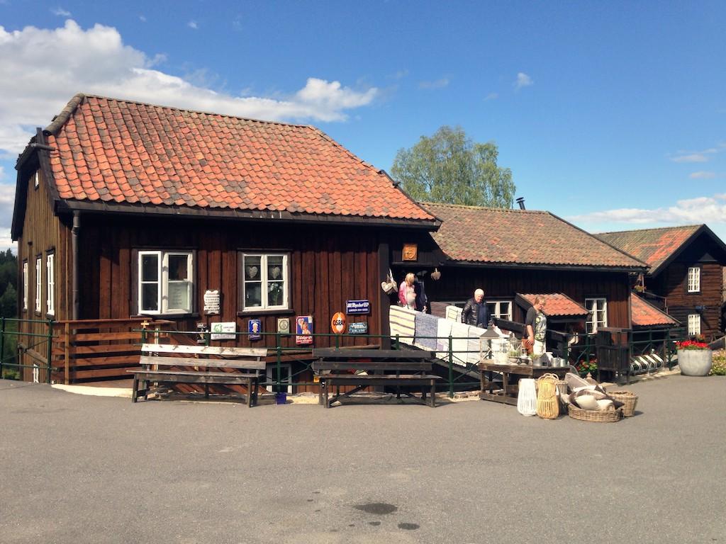 Tranestua Blaafarveværket - Haugfoss
