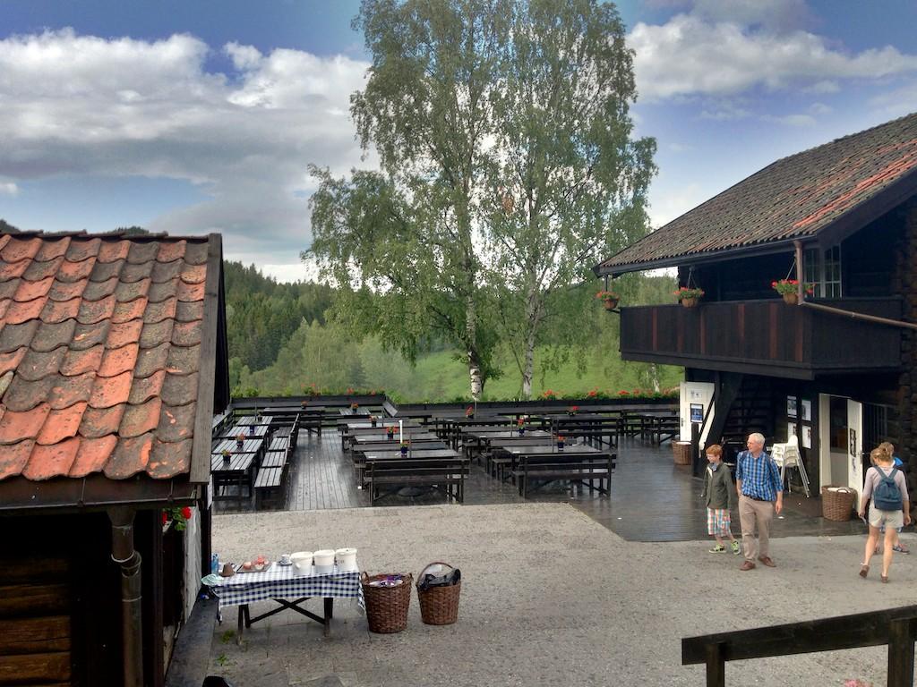 Thranestua Blaafarveværket - Haugfoss