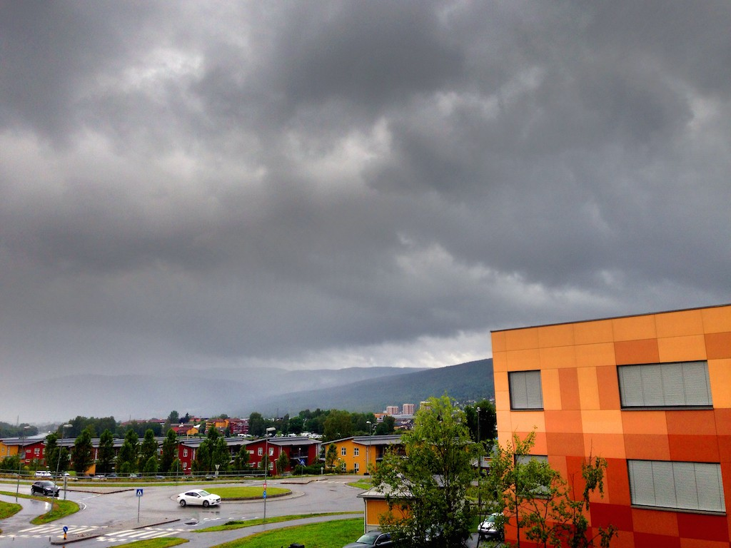 Regnvær Drammen