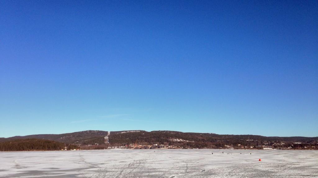 Tynn is i Sandebukta