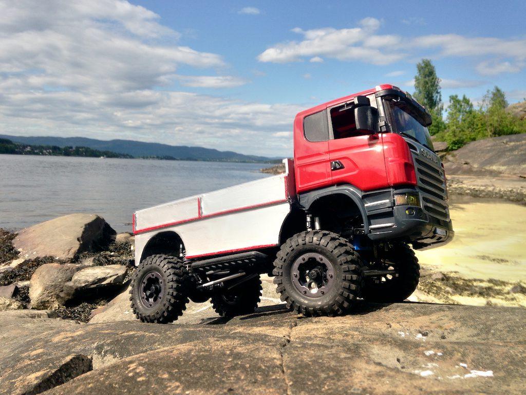 Axial SCX10 - Axial Scania Bruder