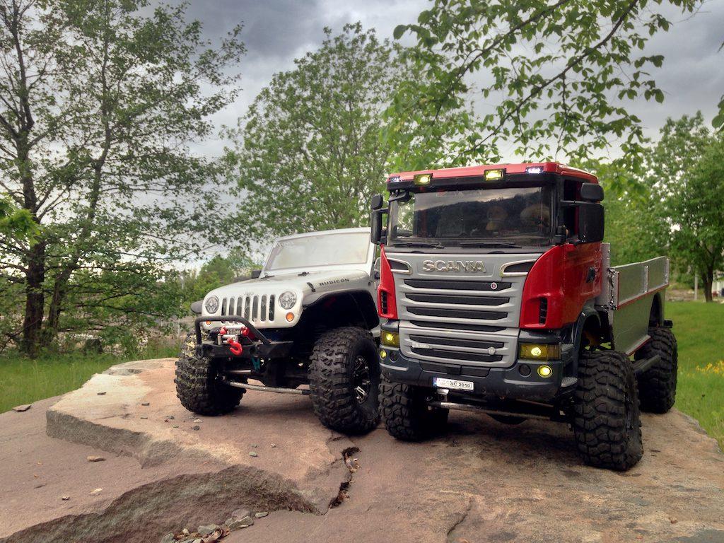 Axial SCX10 - Axial Scania Bruder - Axial Scx10 Rubicon