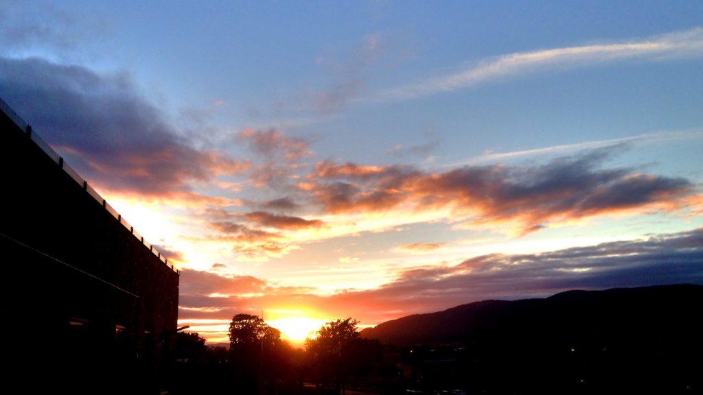 Drammen Solnedgang