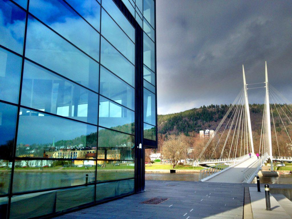 Papirbredden,Ypsilon,Drammen bibliotek,Høgskolen i Buskerud