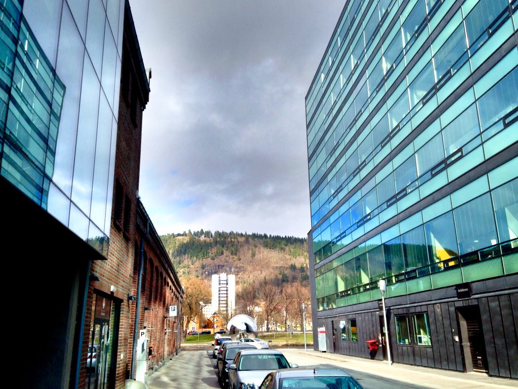 Drammen,Elveharpe,Union Scene,Papirbredden
