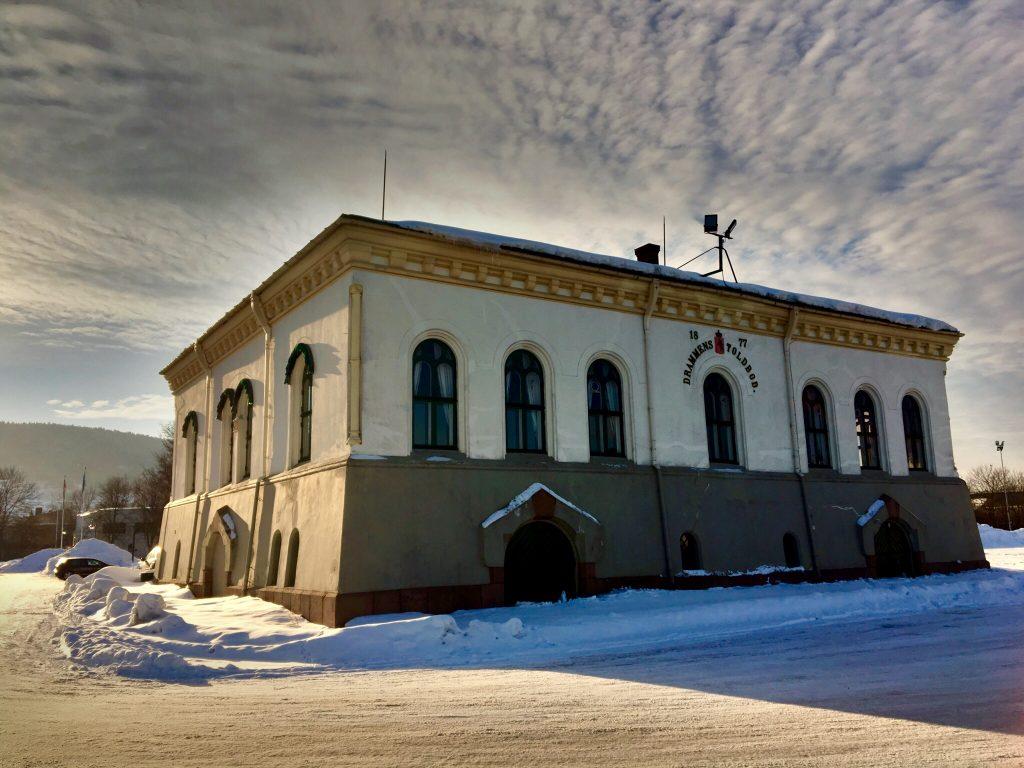 Gamle tollboden i Drammen