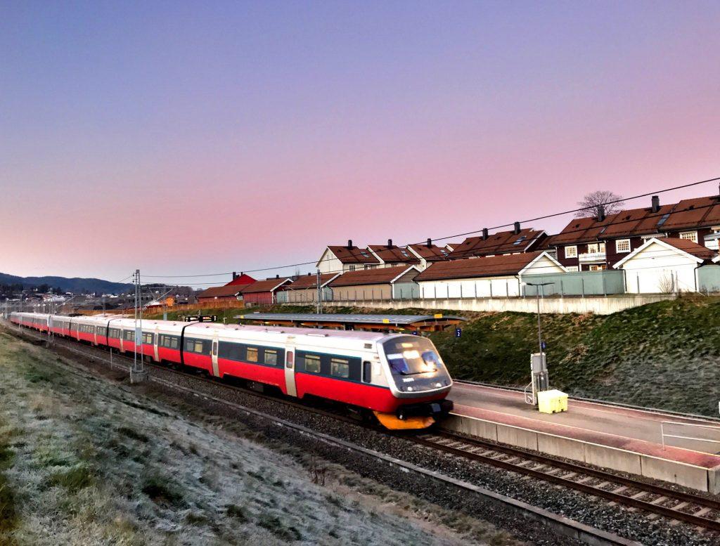 Sande stasjon, NSB,Sande i Vestfold